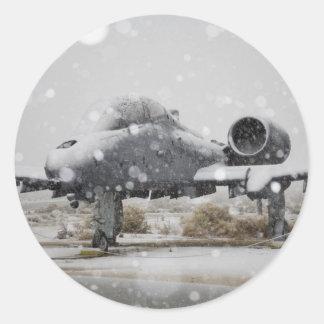 RAYO A-10 PEGATINA REDONDA