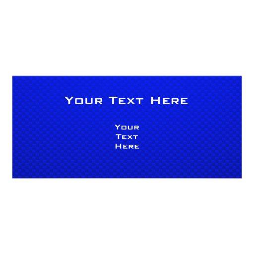 Rayo azul diseños de tarjetas publicitarias