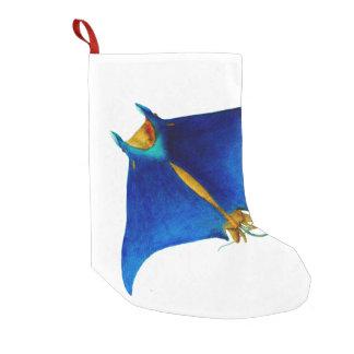 rayo de manta calcetín de navidad pequeño
