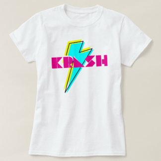 rayo del krash de los años 80 camiseta