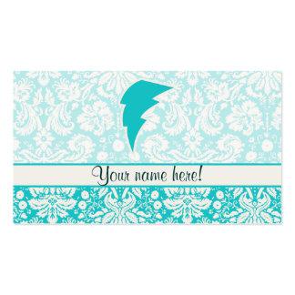 Rayo del trullo plantilla de tarjeta personal