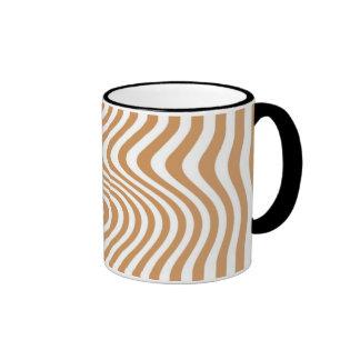 Rayó - Mug - Color: Café con leche Taza A Dos Colores