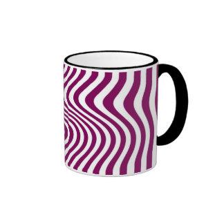 Rayó - Mug - Color: Púrpura Taza A Dos Colores