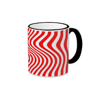 Rayó - Mug - Color: Rojo Taza A Dos Colores