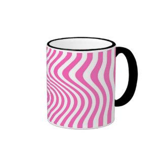 Rayó - Mug - Color: Rosa Taza A Dos Colores
