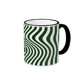 Rayó - Mug - Color: Verde inglés Taza A Dos Colores