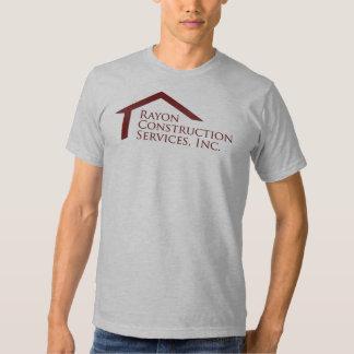 Rayon la Construction Company Camisetas