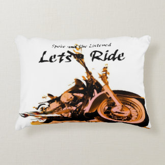 Rayos de Harley Davidson Cojín Decorativo