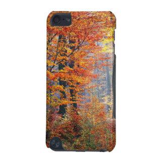 Rayos de sol coloridos hermosos del bosque de la carcasa para iPod touch 5G