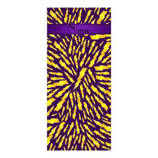 Rayos púrpuras conocidos personalizados lona personalizada