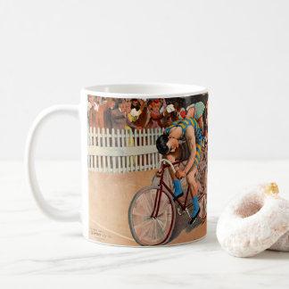 Raza de bicicleta 1895 taza de café