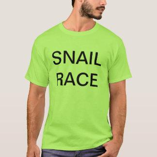 raza del caracol camiseta