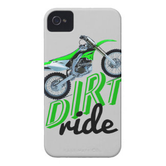Raza del motocrós iPhone 4 carcasas