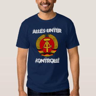 RDA la Alemania Oriental Camisetas