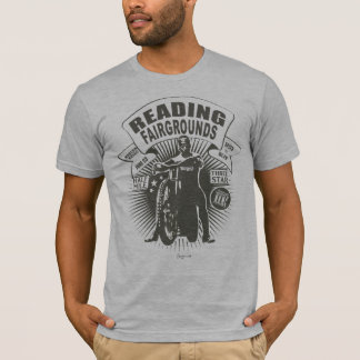 Reading in grey. camiseta