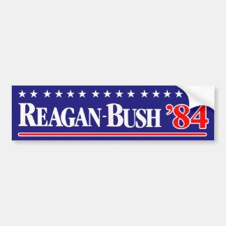 Reagan Bush 84 Pegatina Para Coche