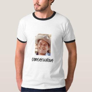 REAGAN, conservador Camisetas