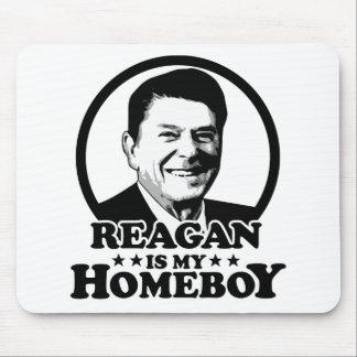 Reagan es mi Homeboy Alfombrillas De Raton