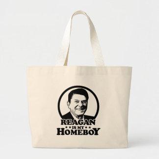 Reagan es mi Homeboy Bolsas