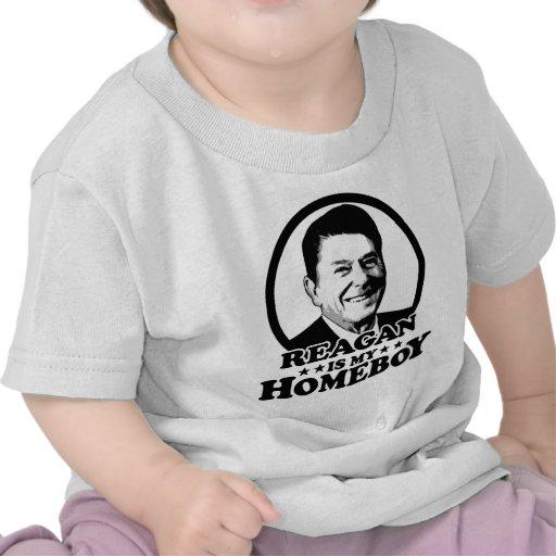 Reagan es mi Homeboy Camisetas