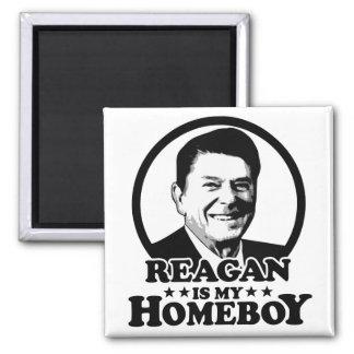 Reagan es mi Homeboy Imán Cuadrado