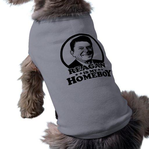 Reagan es mi Homeboy Ropa De Perros