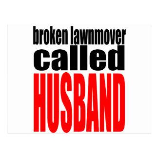 realidad q del recién casado del lawnmover del postal