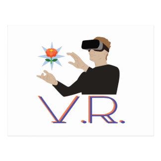 Realidad virtual V.R. Postal