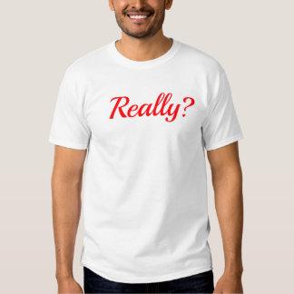 Realmente béisbol camisetas