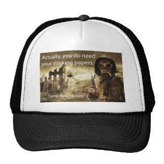 Realmente, usted necesita sus papeles que apestan gorras de camionero