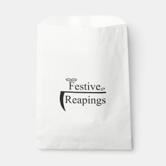 Reapings festivo bolsa de papel