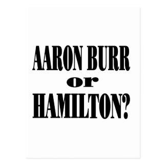 ¿Rebabas o Hamilton Postales