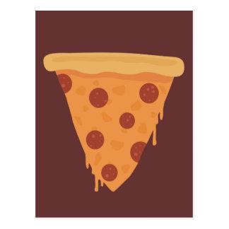 Rebanada de la pizza postal