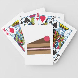 Rebanada de torta cartas de juego