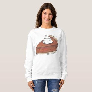 Rebanada del pastel de calabaza con la camiseta