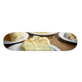 Rebanadas de la torta monopatin