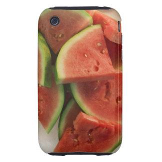 Rebanadas de sandía carcasa though para iPhone 3