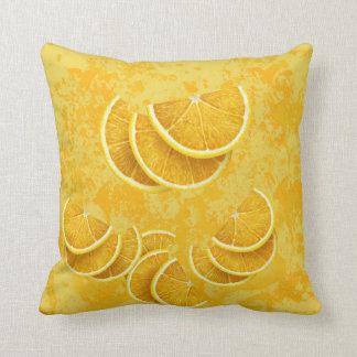 Rebanadas del limón cojines