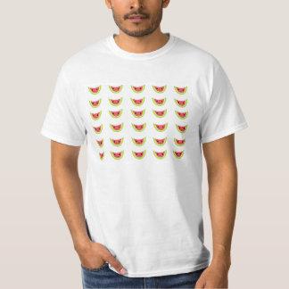 Rebanadas felices de la sandía camisas