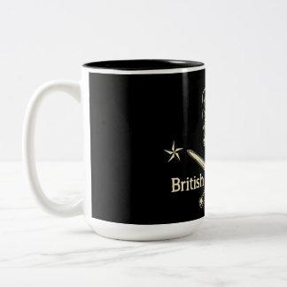Rebeldes británicos taza de dos tonos