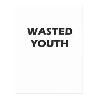 Rebelión perdida de la juventud tarjetas postales