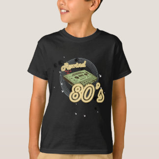 Rebobinado de nuevo a los años 80 camiseta
