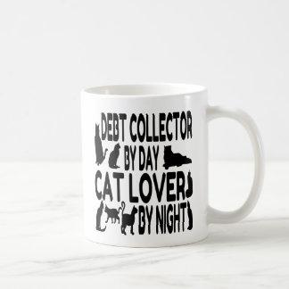 Recaudador del amante del gato taza de café