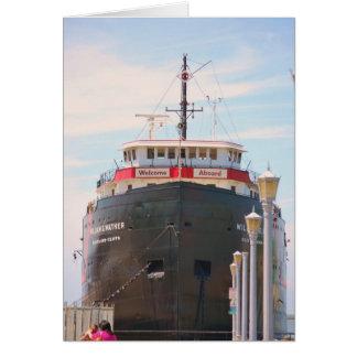 """""""Recepción a bordo"""" de la colección Tarjeton"""