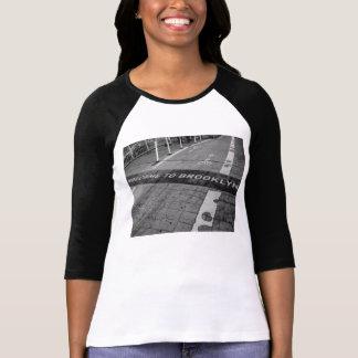 Recepción a la camiseta del béisbol de Brooklyn