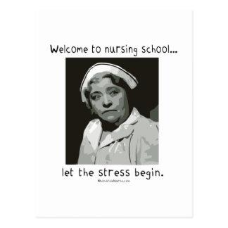 Recepción a la escuela de enfermería tarjetas postales