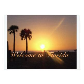Recepción a la Florida Invitación 12,7 X 17,8 Cm