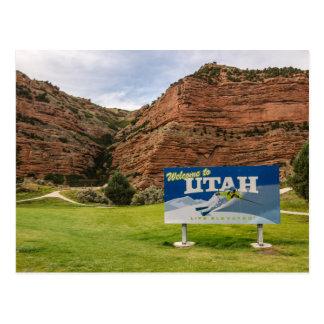 Recepción a la muestra de Utah - muestras del Tarjetas Postales