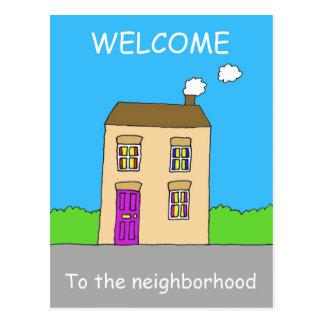 Recepción a la vecindad postal
