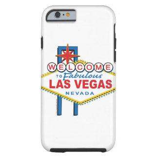 Recepción a Las Vegas fabuloso Funda De iPhone 6 Tough